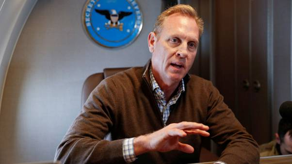 Shanahan to meet Chinese counterpart in Singapore: U.S. official