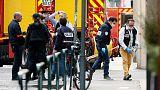 الشرطة الفرنسية تبحث عن مشتبه به بعد تفجير حقيبة ملغومة في ليون
