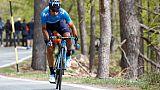 L'Espagnol Mikel Landa lors de la 13e étape du Tour d'Italie le 24 mai 2019