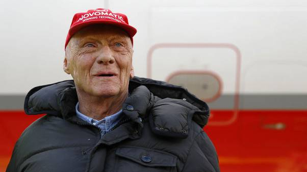 Minute's silence and red cap tribute for Lauda in Monaco
