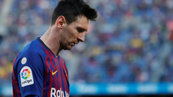 Barca failed to compete in Liverpool defeat, says Messi