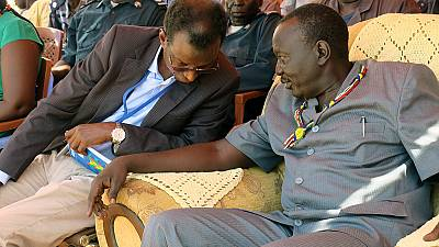 UNMISS hands over newly renovated police station to Aweil authorities (Emmaneul Kele)