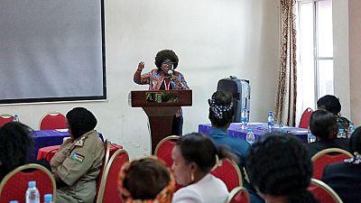 Juba forum explores ways to advance the status of women in South Sudan (Joshua Mmali)