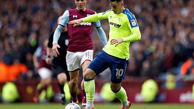 Villa meet Derby in playoff battle for 170 million pounds prize