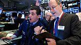 بورصة وول ستريت تغلق مرتفعة بعد تعليقات متفائلة من ترامب بشأن  التجارة مع الصين