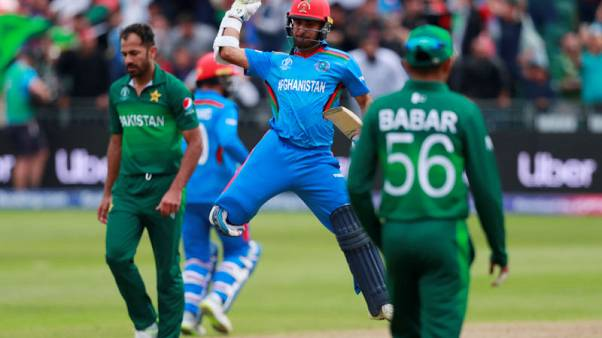 Afghanistan celebrates warmup win with pride and gunfire