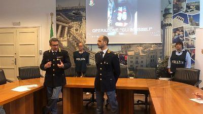 Droga: riforniva corriere,arresto a Roma