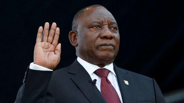 رئيس جنوب أفريقيا الجديد يؤدي اليمين ويتعهد بتحقيق العدالة