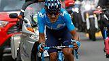 Tour d'Italie: coup double pour Carapaz dans la 14e étape