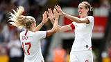 Soccer - England women beat Denmark 2-0 in World Cup warm-up