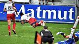 Top 14: le champion de France Castres éliminé, Montpellier qualifié