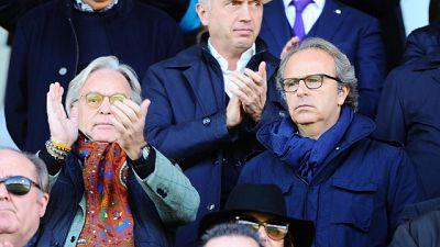 I Della Valle in ritiro con Fiorentina