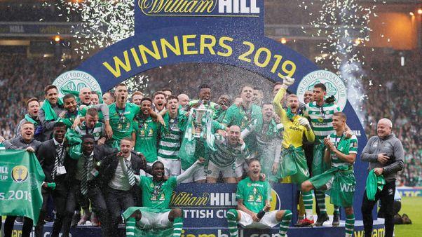Celtic win historic treble-treble with Scottish Cup win