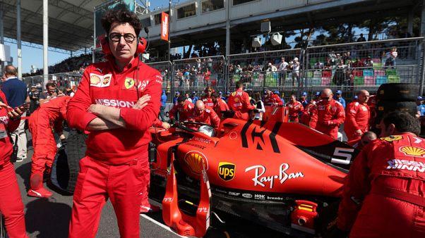 Motor racing - We got our sums wrong, admits Ferrari boss