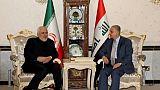 L'Irak plaide contre la guerre en recevant le chef de la diplomatie d'Iran