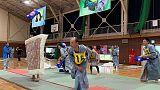 فرق يابانية تتنافس على التأهل لبطولة معركة الوسائد