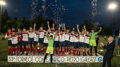 Torneo Galeazzi, tra U14 trionfa Grifone