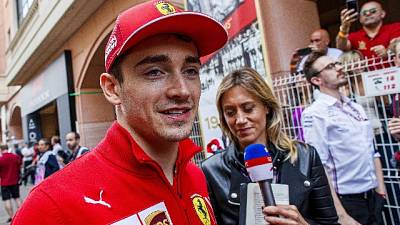 Ferrari Leclerc costretta al ritiro