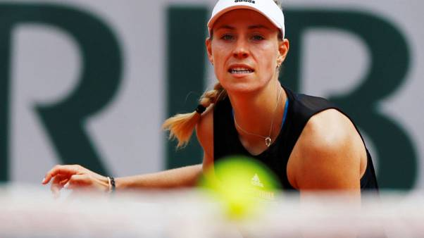 No surprise as Kerber shown the exit in first round