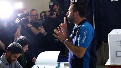 Europee, Salvini ha votato a Milano