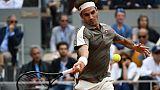 Roland-Garros: retour gagnant pour Federer quatre ans après