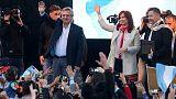 Fernandez-Fernandez ticket in Argentina close to clinching first round vote - poll
