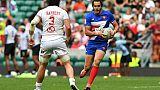 Circuit mondial de rugby à VII: les Français 4es à Londres, les Fidji titrées