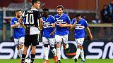 Calcio: Sampdoria-Juventus 2-0