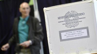 Regionali:Piemonte,affluenza 19 al 49,7%