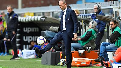 Allegri's reign with champions Juventus ends with defeat