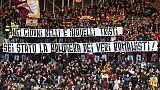 Roma: 'Siamo tutti DDR',omaggio De Rossi