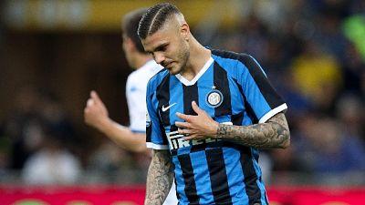 Inter: Icardi esce tra fischi di S.Siro