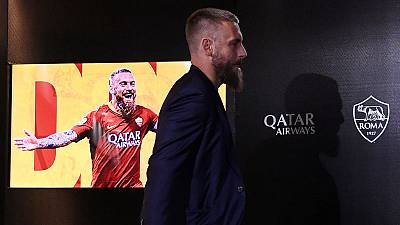 Daniele De Rossi bids emotional farewell as Roma defeat Parma