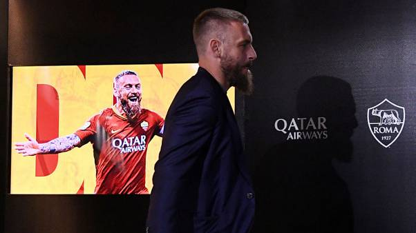 Daniele De Rossi bids emotional farewell as Roma defeat Parma