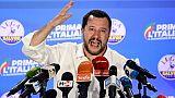 Européennes: Salvini veut dicter l'agenda en Italie