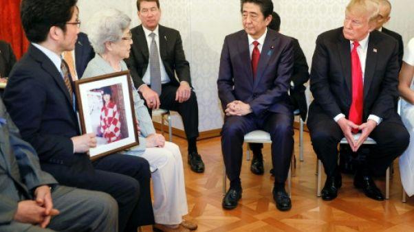 Trump soutient les familles des Japonais enlevés par Pyongyang