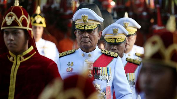 Thai parties meet to discuss deal to keep coup leader as PM