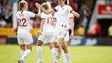 Soccer - Neville rocket got England's Mead reaching for the Moon