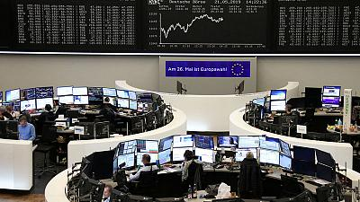 European shares higher on possible Fiat-Renault merger, EU vote in focus