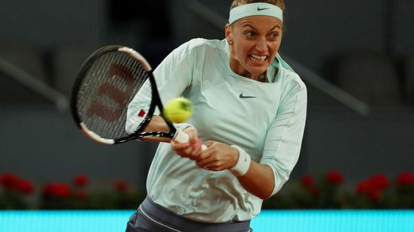 Kvitova withdraws from French Open with arm injury