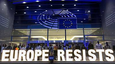 Nationalists surge in EU Parliament, but pro-EU parties remain dominant