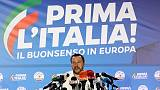 Italy's League says it will stick with coalition after Europe vote win