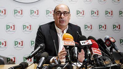 Zingaretti,Pd secondo partito che cresce