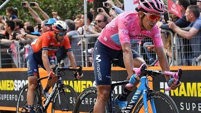 Nibali da domani comincerà un altro Giro