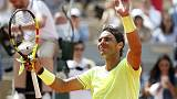 Nadal back to his old merciless self on new French Open center court