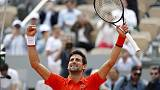 Djokovic up and running with easy win in Paris
