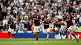 Villa return to Premier League with win over Derby County