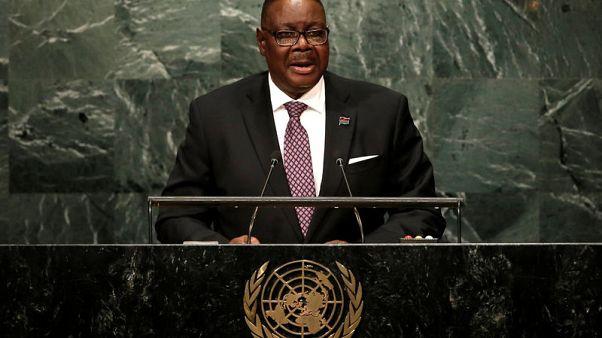 موثاريكا يفوز بالانتخابات الرئاسية في مالاوي بنسبة 38.57 في المئة