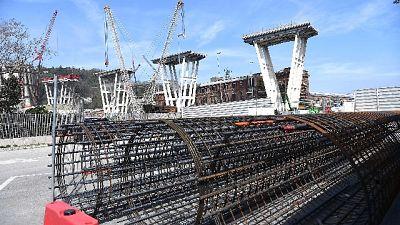 Ponte Genova, via a fori per dinamite