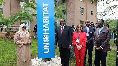 President of Kenya opens first UN-Habitat Assembly